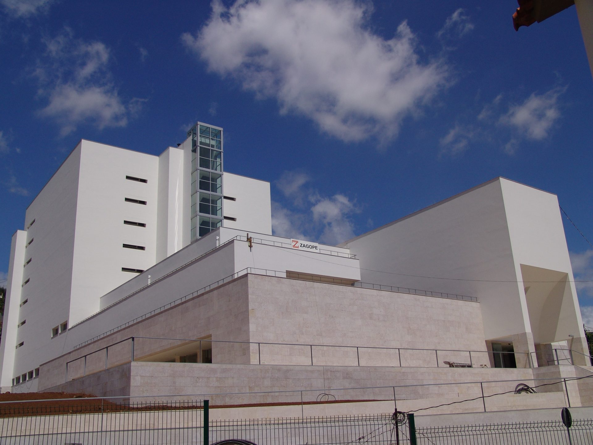 Construção da Biblioteca e Arquivo Regional da Madeira